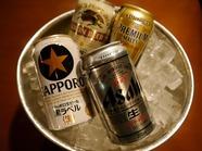 缶ビール各種350ml(1本)の画像